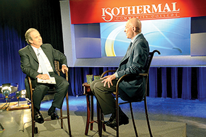 McNair interview filmed at Isothermal set to air