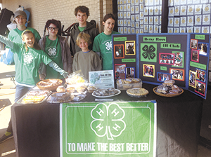 Betsy Ross 4H Club Bake Sale