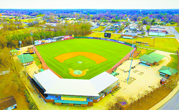 McNair Field, home of the Forest City Owls