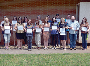 Students recognized for Anuran contributions