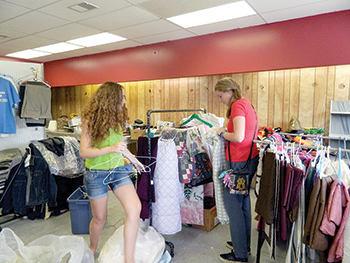 Basic needs being met  through new ministry