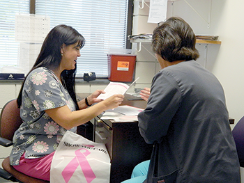 Programs provide funding for women who need breast exams, mammograms