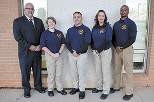 Four students graduate from Basic Law Enforcement program