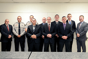 Eight students graduate from Basic Law Enforcement program