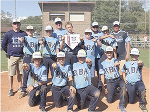 Rutherford Baseball Academy 13U State Champs