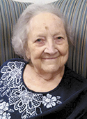 Betty Ware Hutchins, age 86
