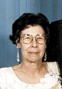 Betty Thomas Stapp, age 90