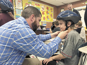 Bicycle helmets provided for all Rutherford County fourth grade students