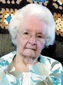 Blanche Virginia Sane Ruff age 92