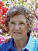 Mavis Bright Bridges, age 90