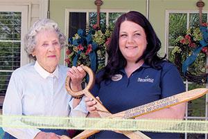 Brookdale (formerly Carolina House) holds ribbon cutting