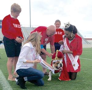 Local pet takes top honor in Sixth Annual Citadel Beautiful Bulldog Contest