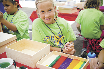 Trained Volunteers Needed for Camp Erin Hospice of Rutherford County is in need of volunteers