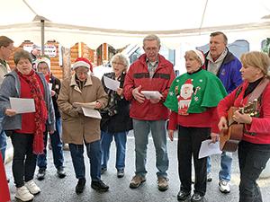 Village hosts Christmas event
