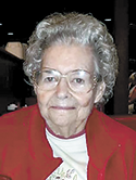 Sara Clark Causby, age 91
