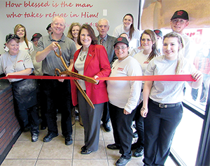 Ribbon cutting held for Chuck's Family Pizza Buffet
