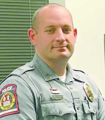 Clint Ingle is Rutherfordton's new Police Chief