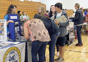 RCS students took part in college fair