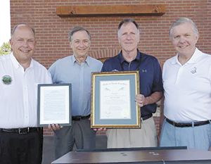 Condrey receives state's highest honor