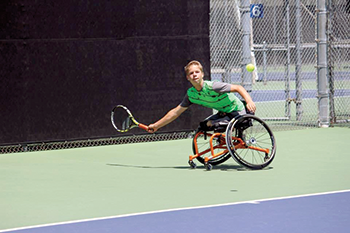 Young tennis star dreams of playing in  the U.S. Open