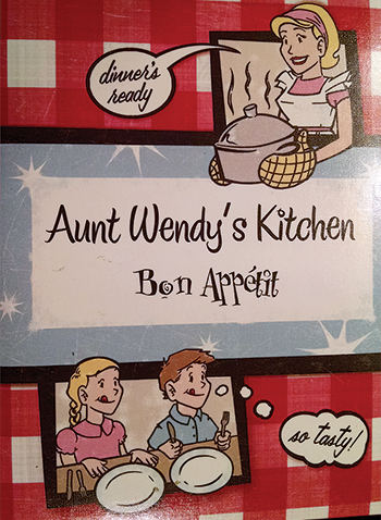 'Aunt Wendy' shares garden and recipes with others