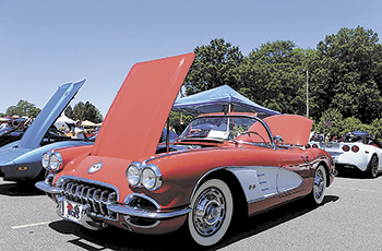 Car show supports military charity