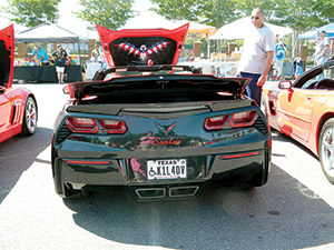 Corvettes for Vets held in May