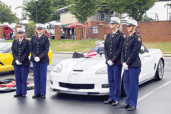 Corvettes for Vets returns to McNair Field Saturday