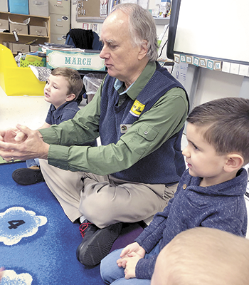 Master Of Stories  Juices Up Classrooms David Novak, Elvis Of Storytellers Keeps Time Here With Kids