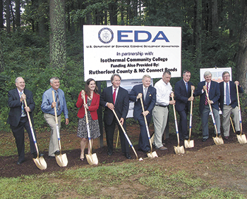Isothermal breaks ground for new Applied Sciences and Workforce Development Center