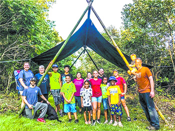 Reflections on the difficulties and joys experienced from working at a camp in a Covid world