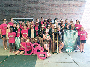 Dancin' Stars perform well at national competition