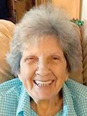 Dorothy Lea Weaver Hill, 86