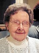 Evelyn Ellery Toms age 97