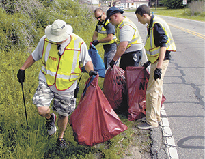 Earth Day Clean-up held