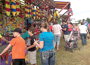 Colfax Free Fair has returned