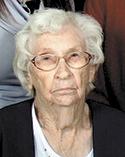 Emma Sue Elliott, age 95