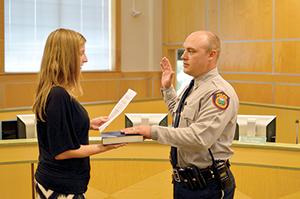FCPD swears in new officer