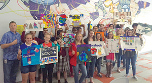 Facebook's Forest City Data Center Rutherford County Middle School Art Contest Winners