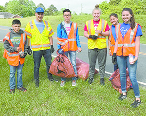 Annual fall litter sweep  starts today