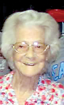 Ada Fay Wallace, age 95