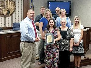 County receives financial excellence award