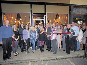 Foothills Cafe ribbon cutting