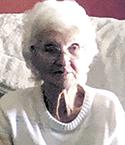 Margie Sims Frady, age 95