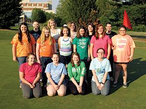 Golfing Girl Scouts