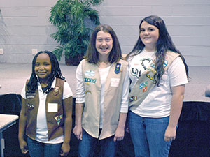 Local Girl Scouts Lead the Change