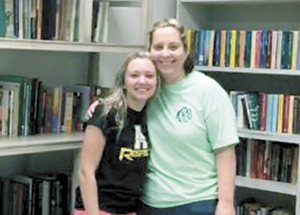 Amber Blanton earns Girl Scout's highest honor