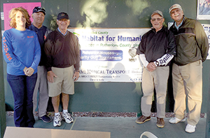 Habitat for Humanity  golf tournament winners