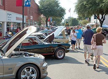 Cars, athletic events  and dancing lead  this weekend's events