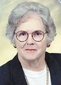 Hazel Gibson Blankenship, age 92